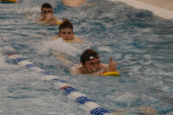 Boys swimming 2012
