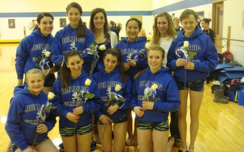 Gymnastics finishes 4th at regionals, ending their season