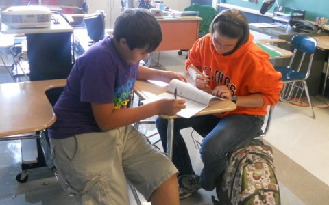 Need a little help from your friends?  NHS tutoring begins again