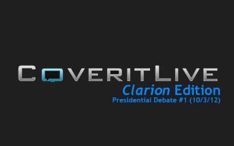 ClarionLIVE!:  Presidential Debate #1