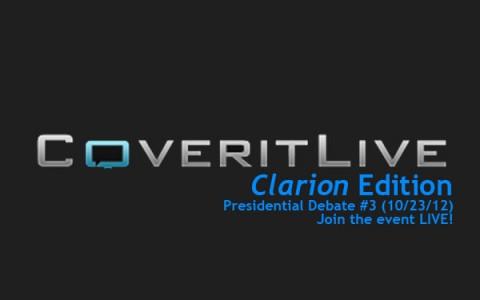 ClarionLIVE! Presidential Debate #3