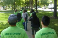 More supporters than ever participated in the Walk for Therese, a charitable event set up to benefit survivors of domestic abuse.