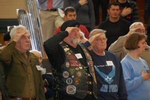Unique annual assembly marks RB's Veteran's Day celebration