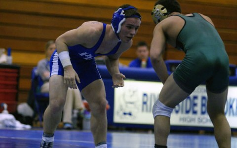 Without Odeh, wrestling still seeks success