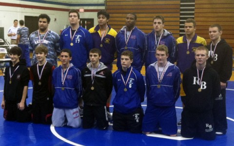 Young wrestling guns Guirini and Potts improving, stars shining early