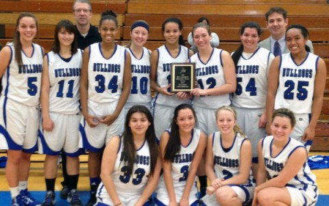 Girls' basketball takes second at Holiday Classic