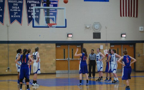Two point loss cannot mar 24-5 girls' basketball season