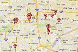 MAP:  Romantic Valentine's Day destinations abound