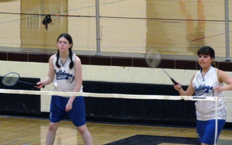 Girls' badminton starts out strong against Fenton