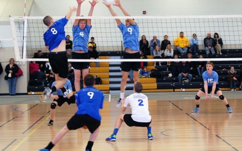 Thor-Larsen, Gibson, and Fieseler headline volleyball's solid start