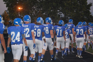 Football surrenders 14 point lead, falls to Lemont