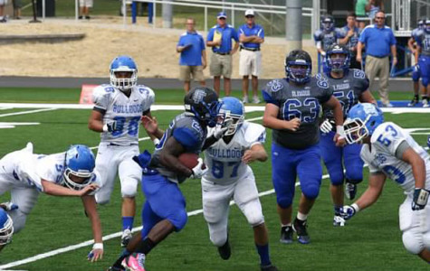 Bulldog football falls to St. Francis