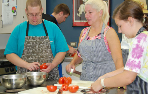 Students, parents cook up fun at Culinary Night in the Garden