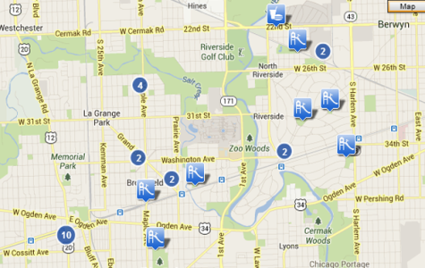 MAP:  What to do on a Friday night