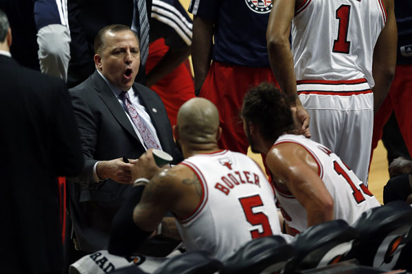 Tom Thibedeau has led the Bulls to several victories. Can that continue? Welcome to THE RED LINE