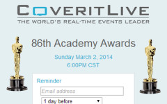ClarionLIVE:  Watch the Oscars