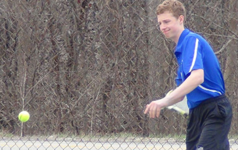 Stormy weather does not rain out nice start for Boys' Tennis