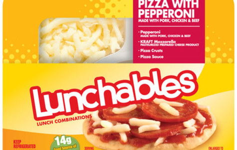 Lunchables, a pizza blast to the past