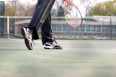 Boys' tennis starts slow, but hopeful
