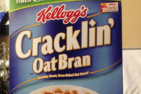 My brain is cracklin' for oats