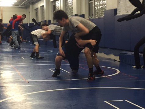 Boys' wrestling: in relentless pursuit