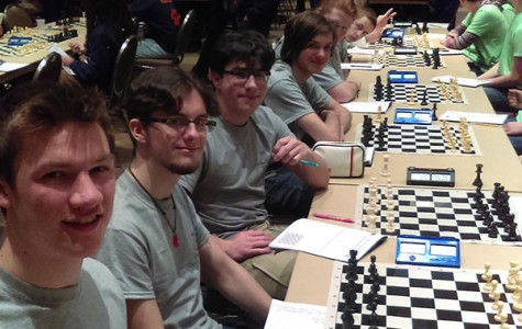 Chess Team takes on State
