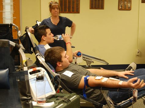 Sign ups for the RB blood drive are now open