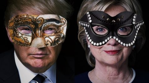 Presidential candidates wear masks, too