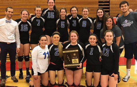 The Varsity girls volleyball team serves up a fantastic season
