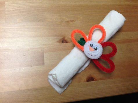 Turkey napkin ring