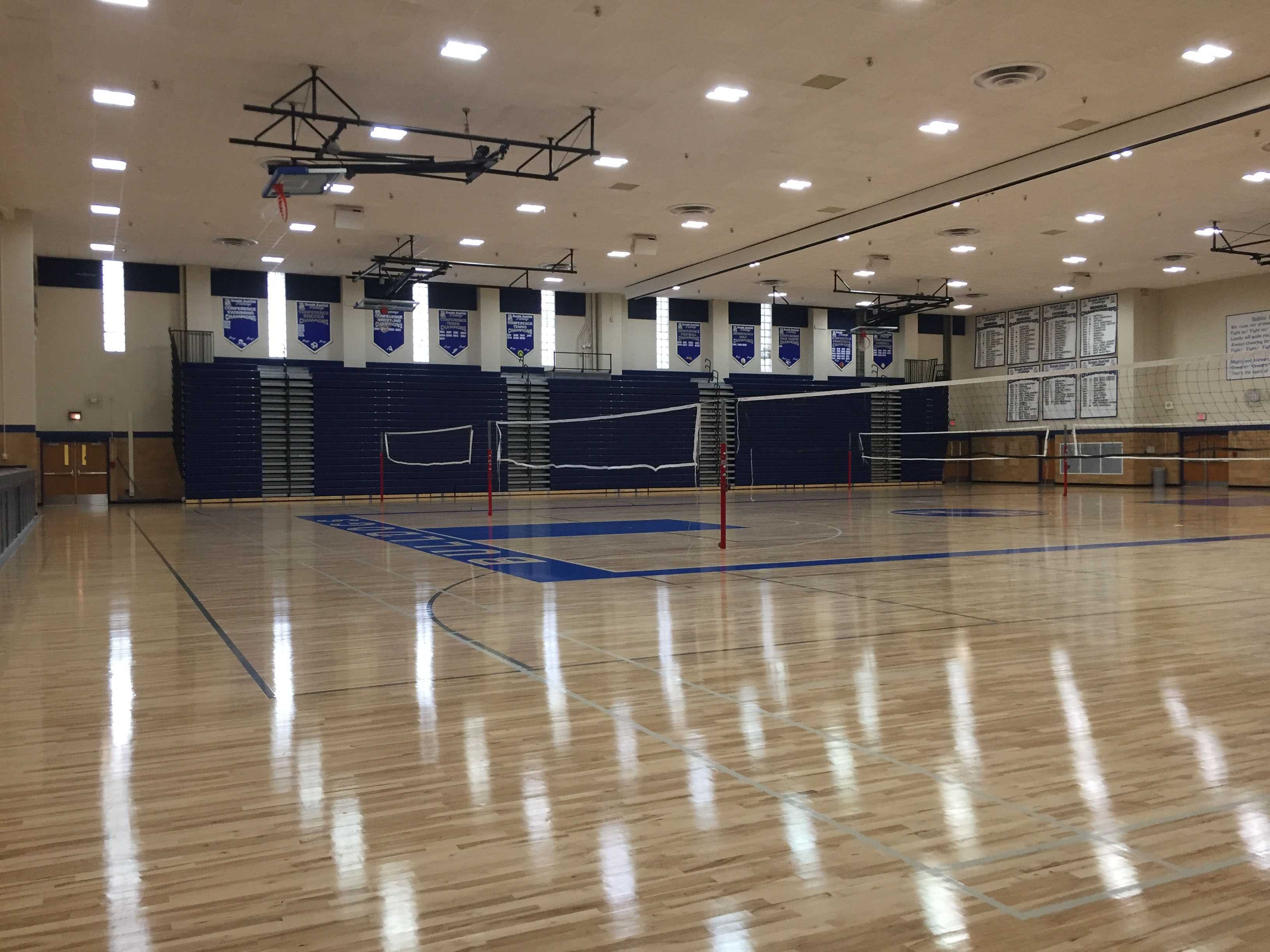 The newly constructed Main Gym here at RB.
