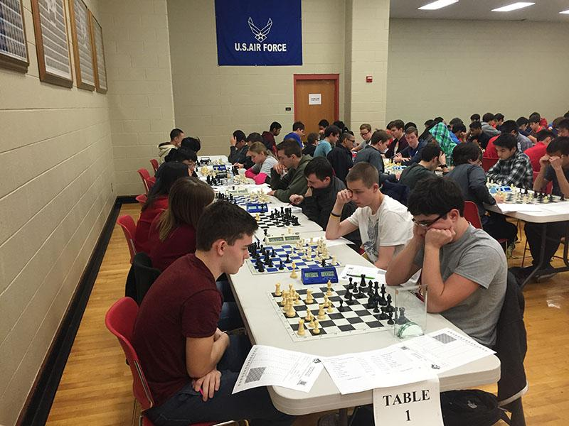 RB team attending the Bolingbrook Chess Tournament