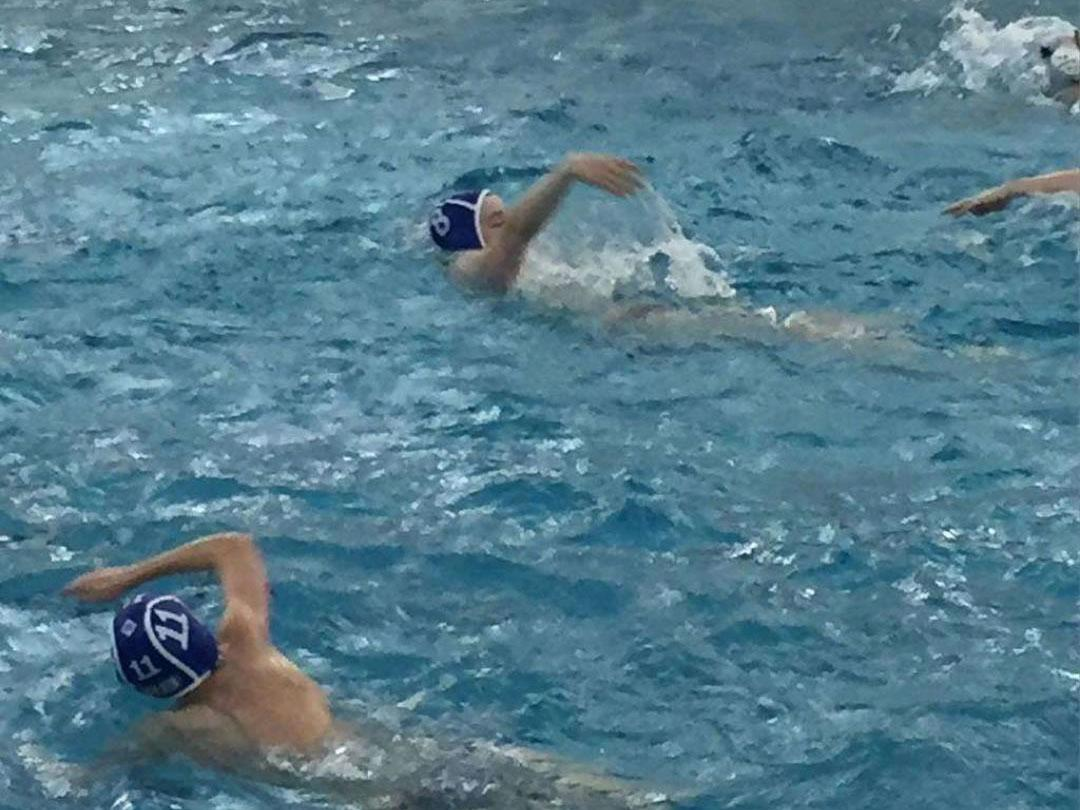 Some RB water polo players treading water