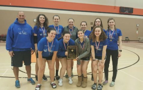 RB girls badminton team wins Conference