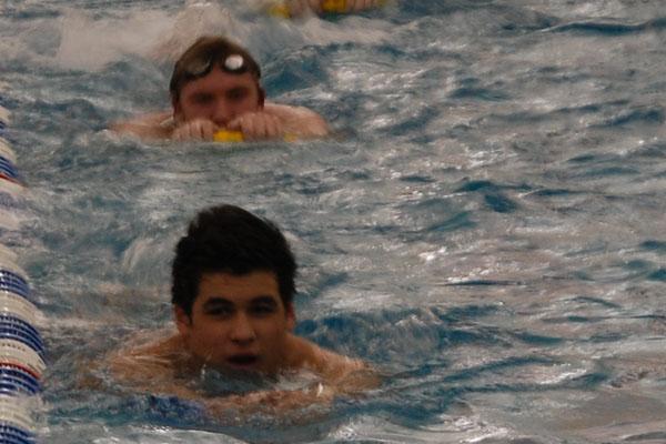 Boys swimming 2012