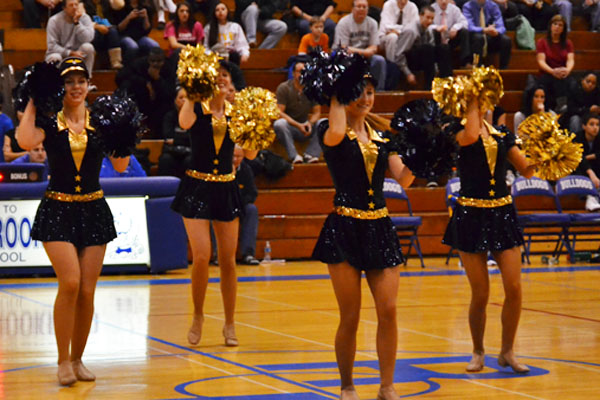 Cheerleading and Poms