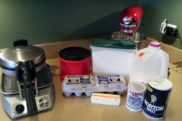 Rachael\'s Rockin\' Kitchen:  Waffles