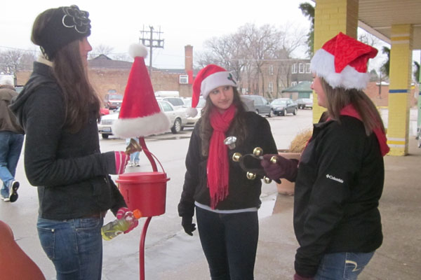 Salvation Army Bell-Ringing