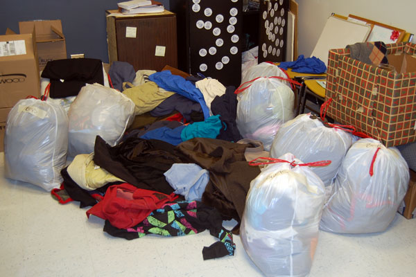 Coat and blanket drive