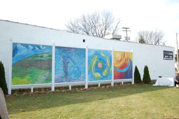 Progress Park Mural Dedication