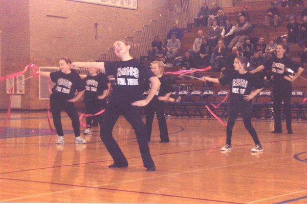 RB Twirl Team and Clinic