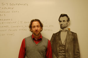 History teacher John Fields