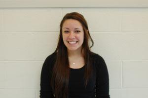 Senior Kayle Vitek