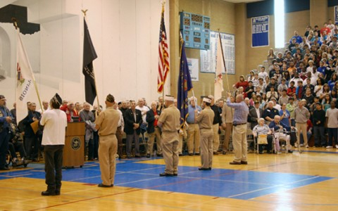Veterans Day Assembly in photos