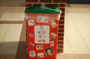 Eco Club pitches in with Terracycle project