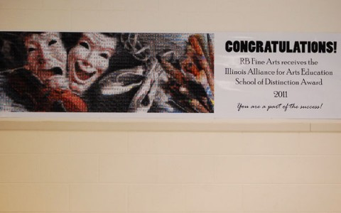 "Fine Arts dpt. named ""School of Distinction"""