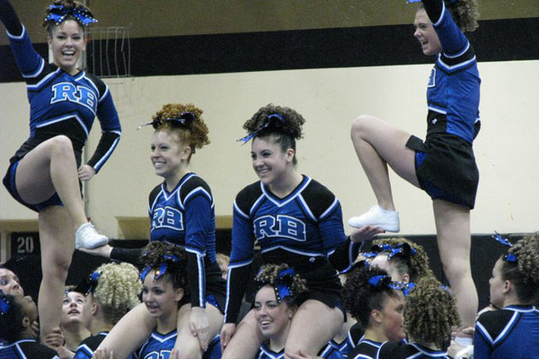 Cheerleaders one shy of advancing to Day Two at State