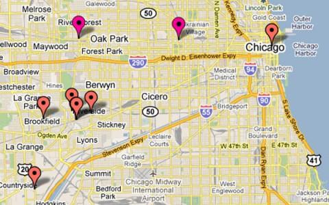 Interactive Map:  Valentine's Day