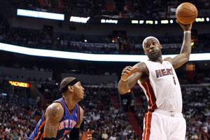 Knicks stun the Heat