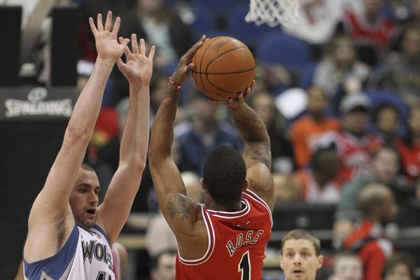 Bulls trade Derrick Rose